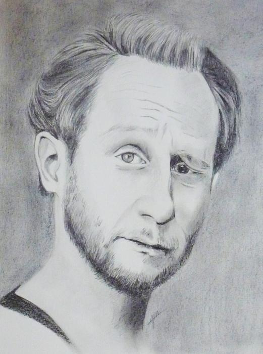 Benoît Poelvoorde by Moinet